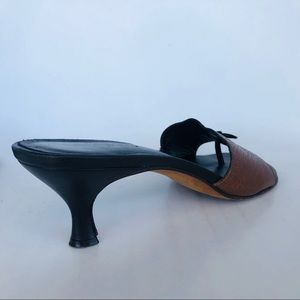 "Donald J. Pliner Shoes - Donald J Pliner Size 9. 2"" kitty heel Sandals."